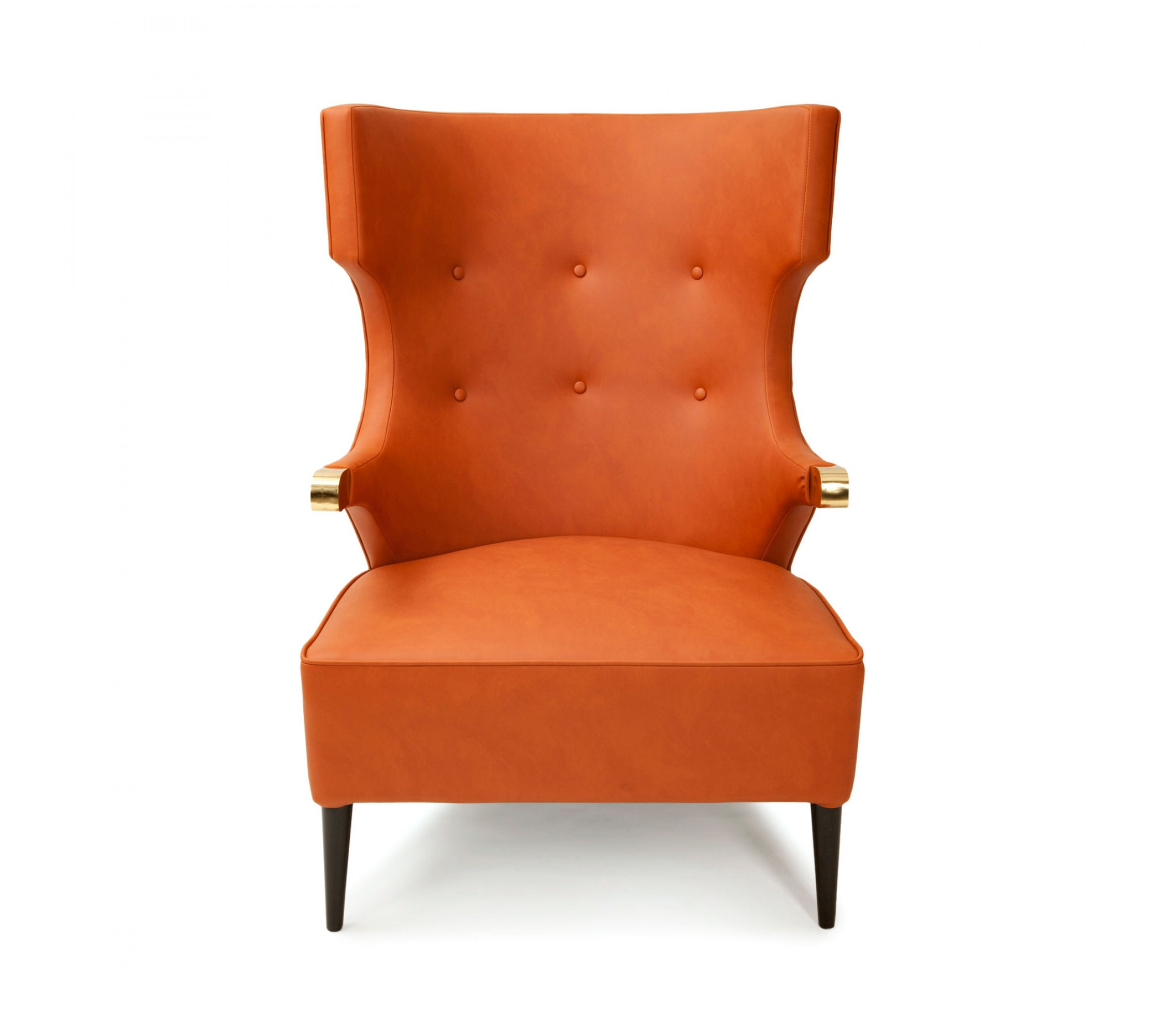 Kunstleder Sessel - Sika Orange