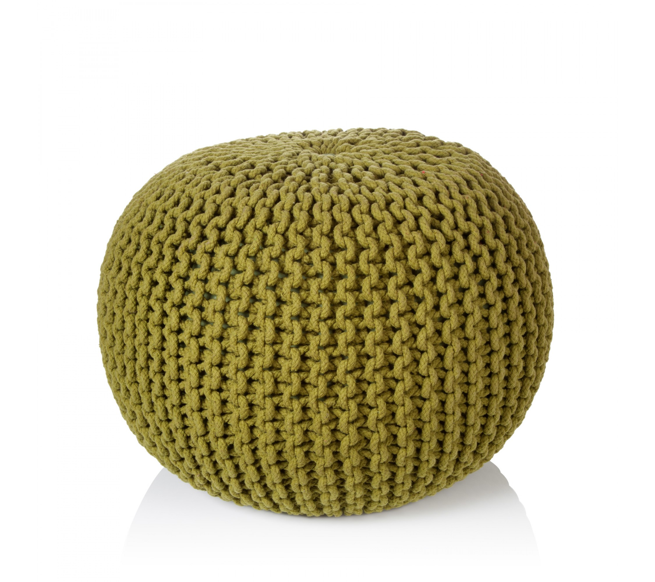 Strickpouf - Easy Sit green