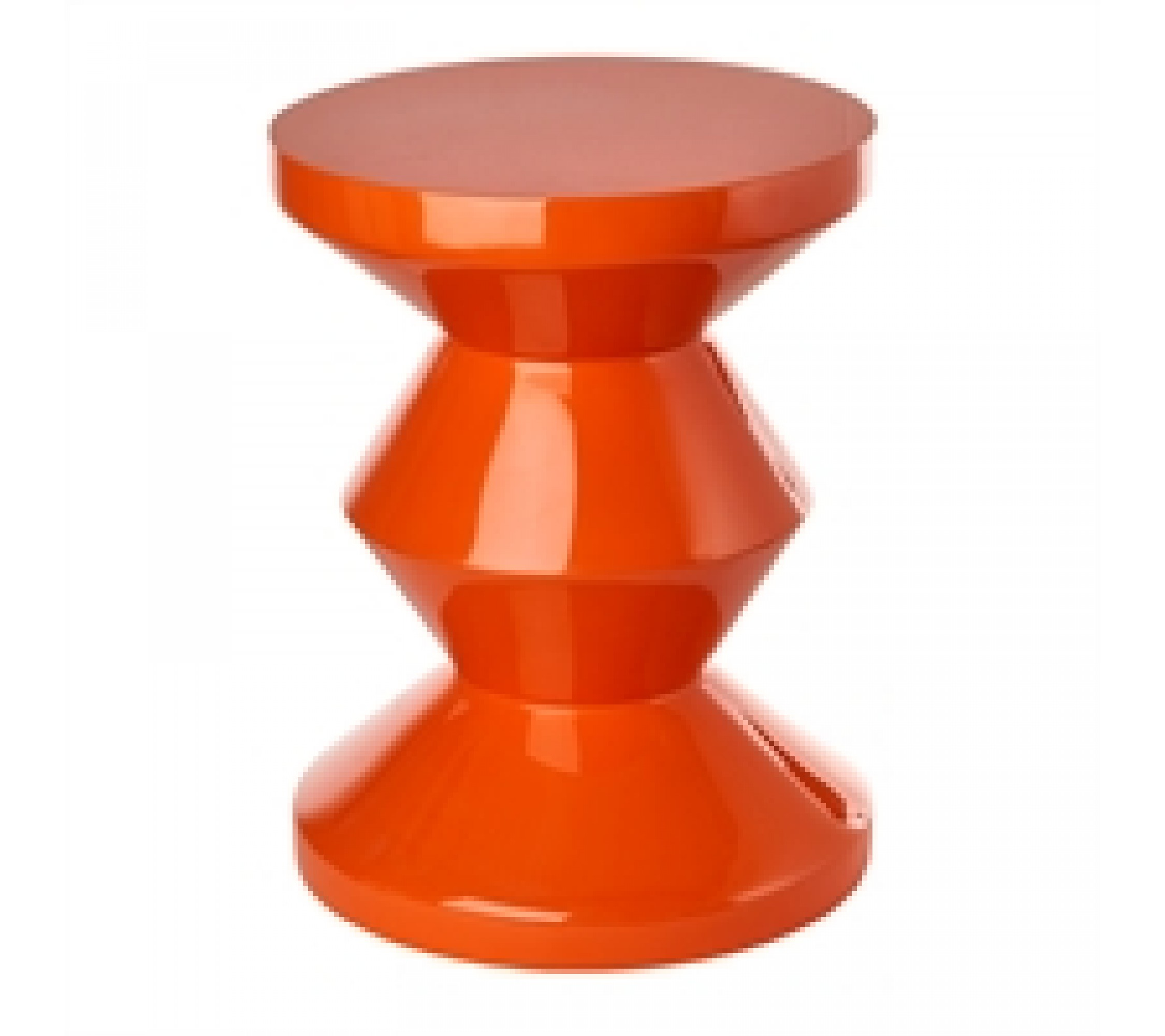 Hocker Zig Zag Orange