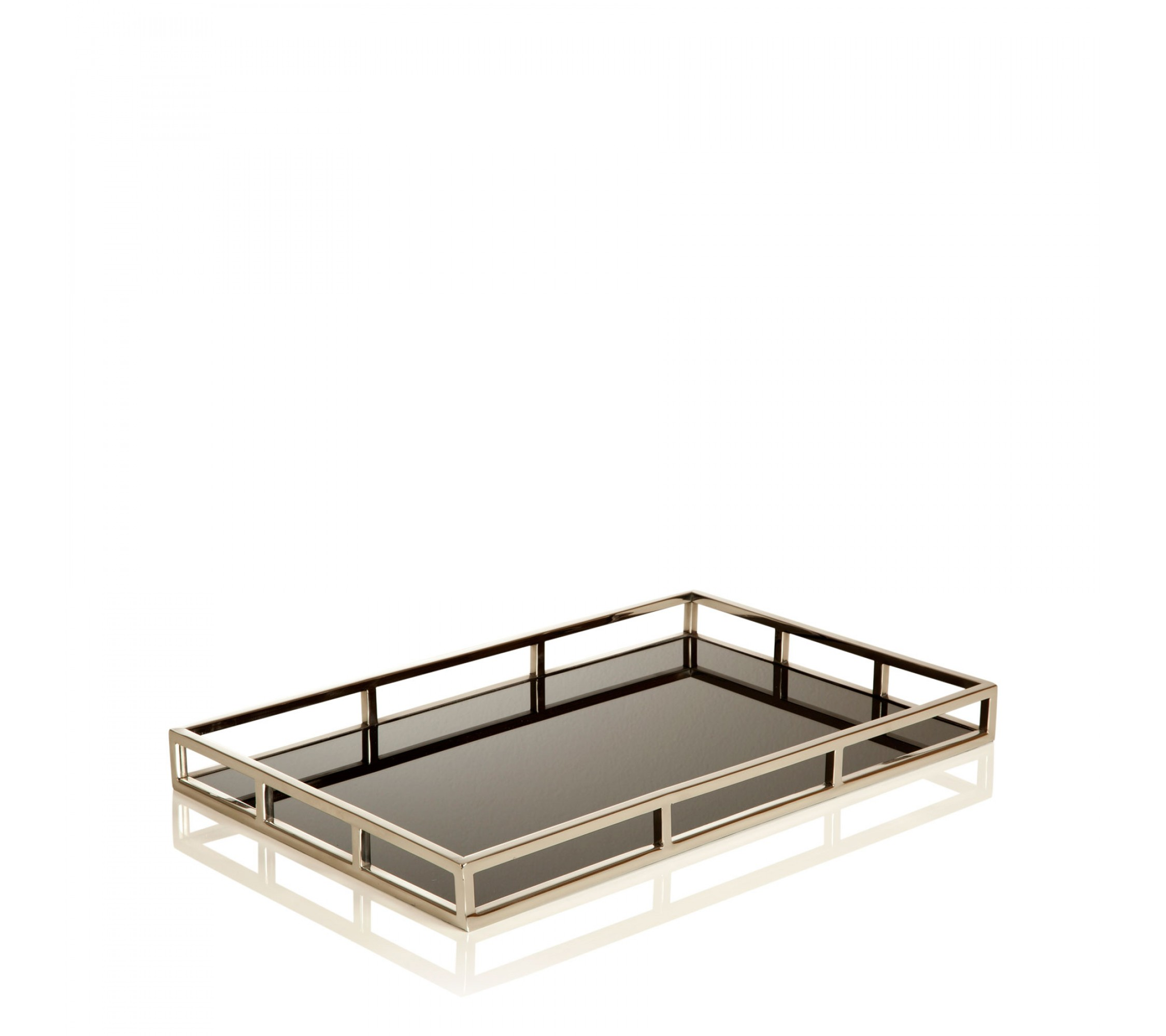 Deko-Tablett - Tray Black