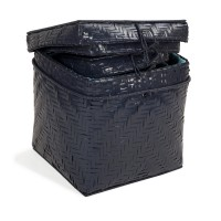 Bamboo Storage Navy