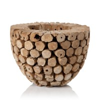 Flower Pot Logs