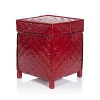Bamboo Storage Red