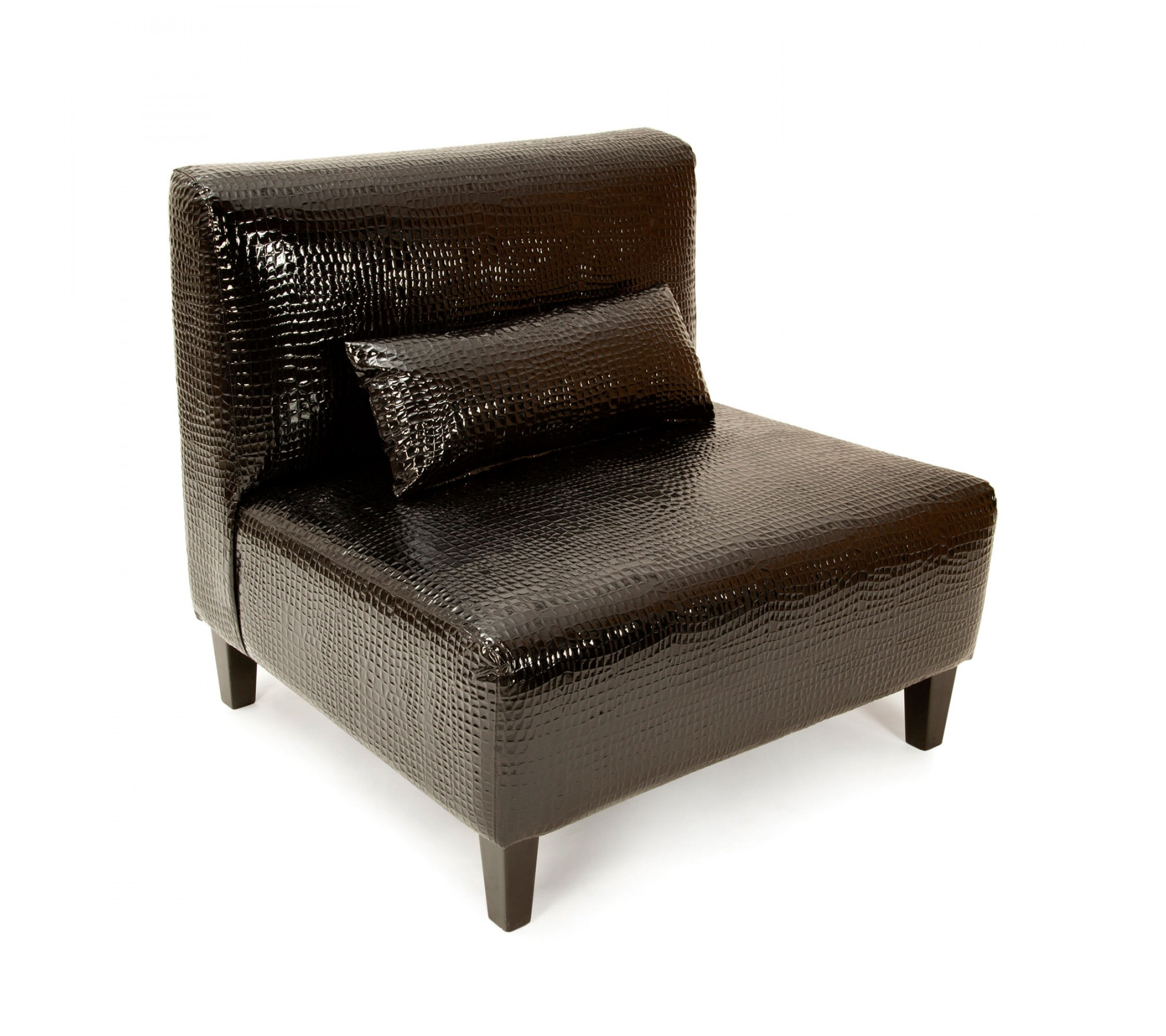 Kunstleder Sessel - Black