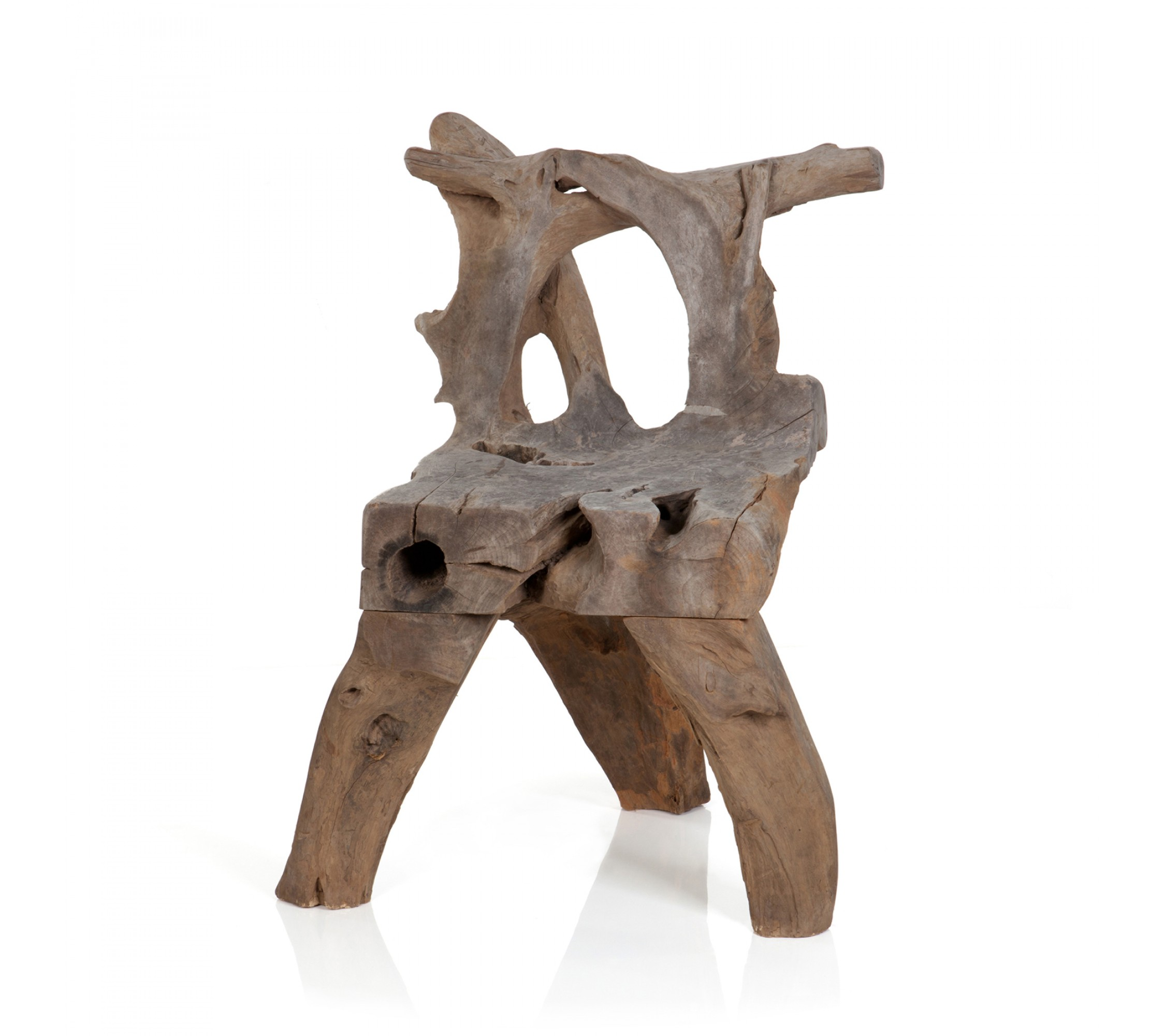 Holzstuhl - Teak Root Chair