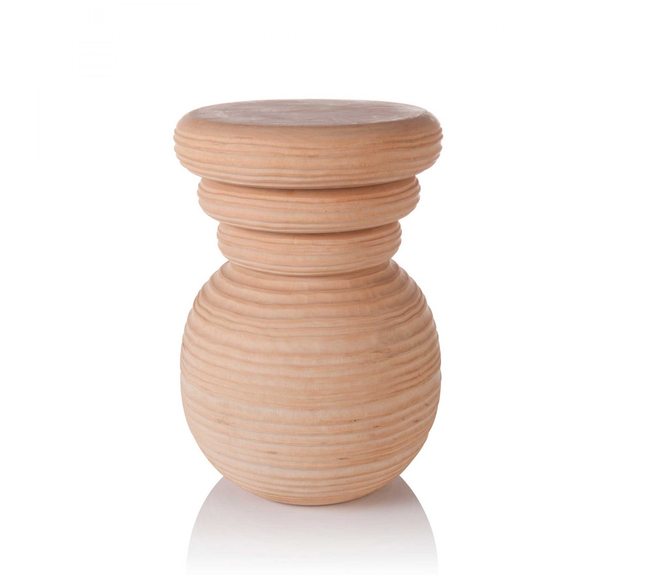Hocker Massivholz - Round Wooden