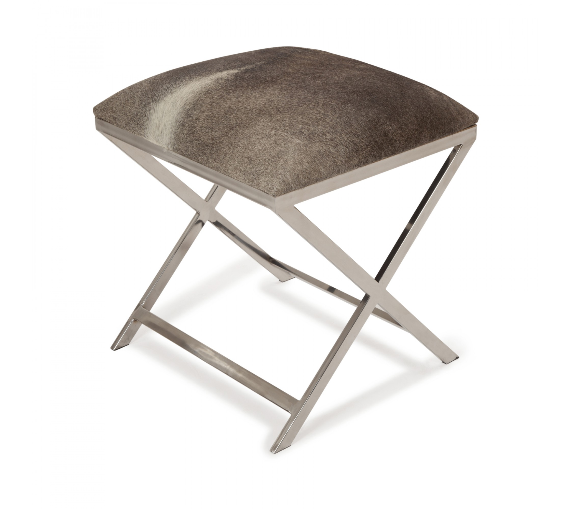 Hocker Kuhfell - Grena Grey