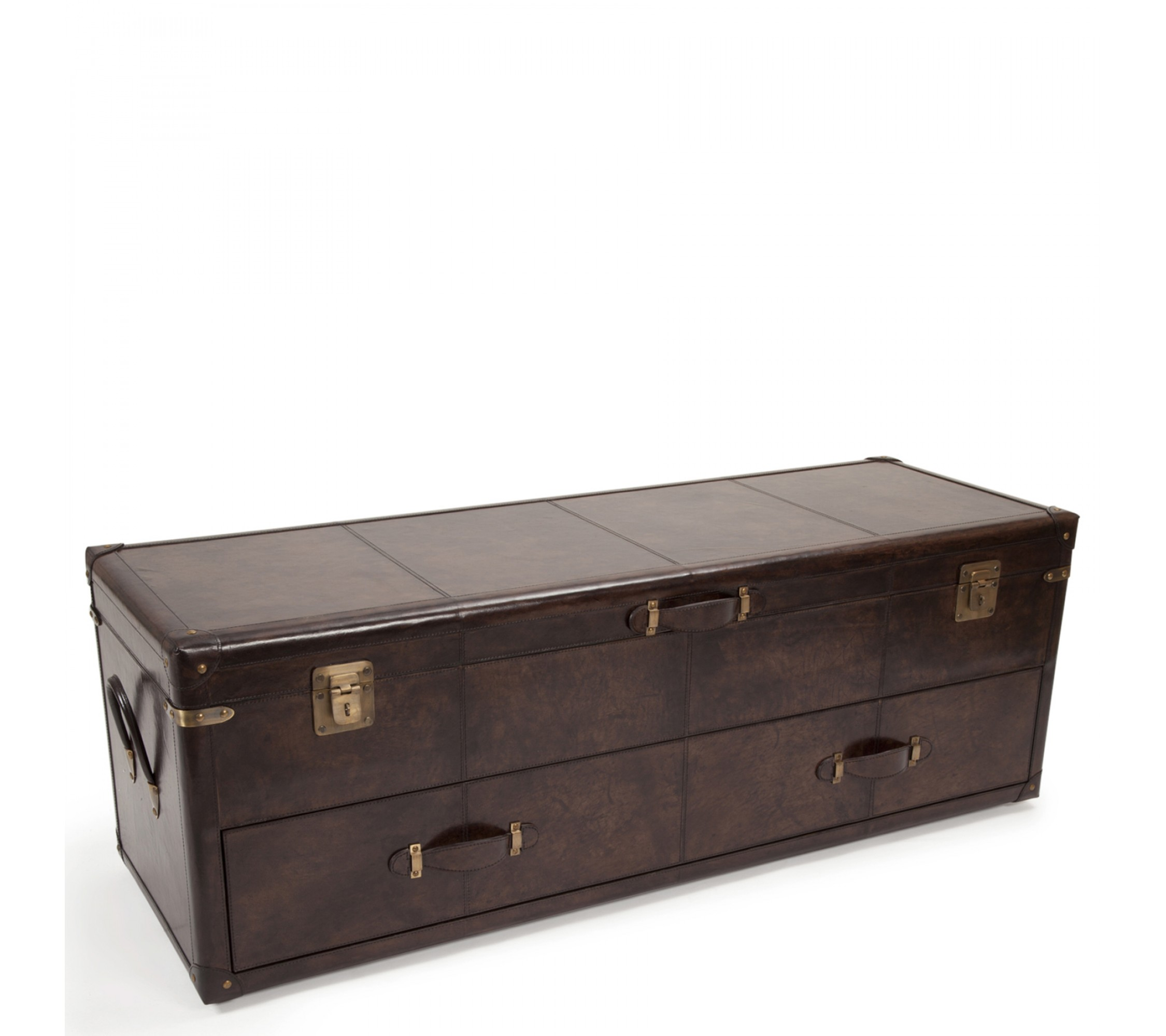 Ledertruhe - Hamilton Trunk