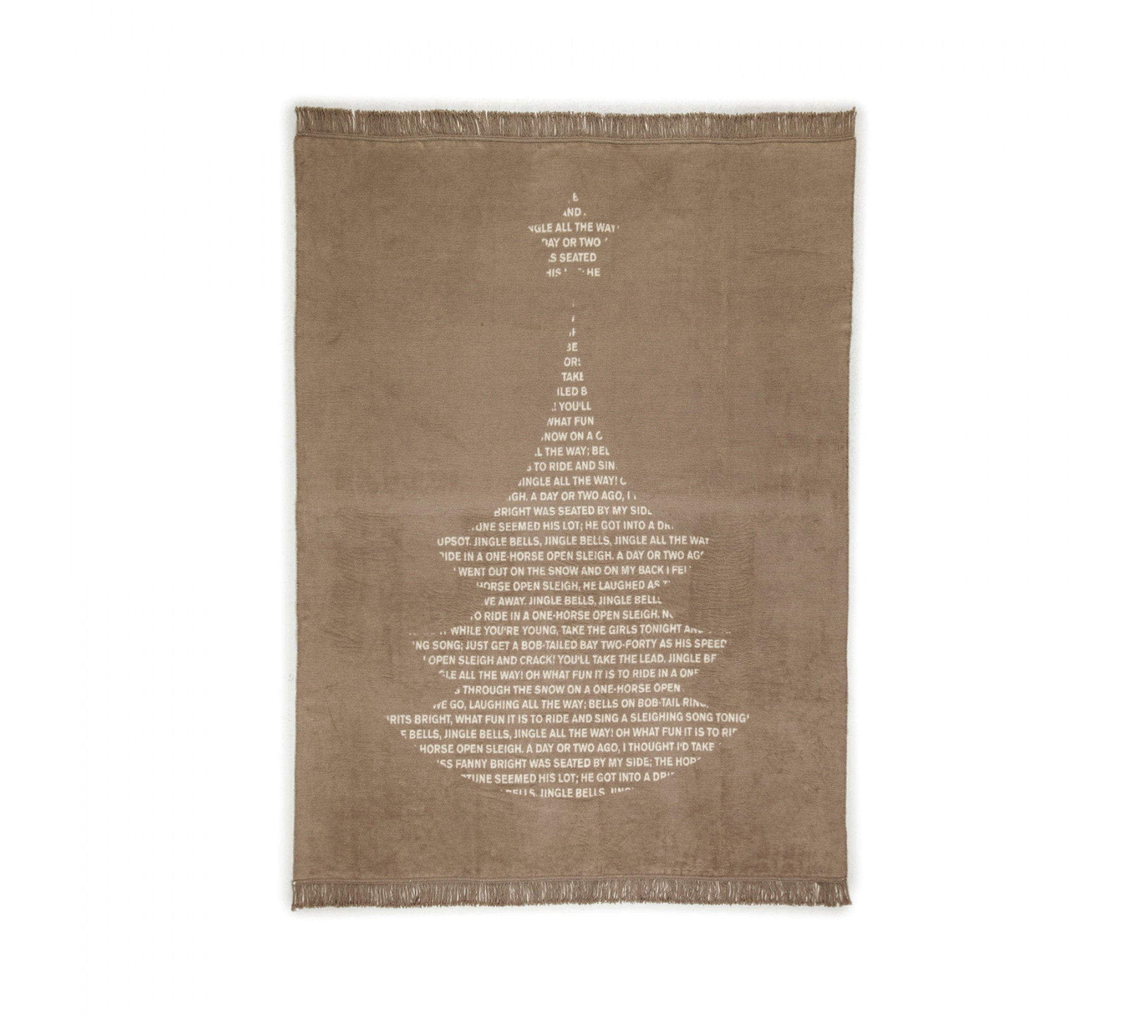 Wolldecke - Tree Blanket