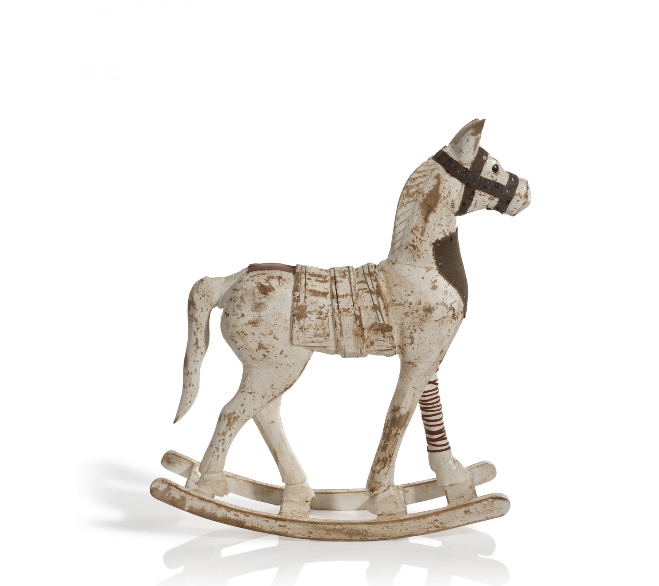 Deko-Schaukelpferd - Rocking Horse Brown