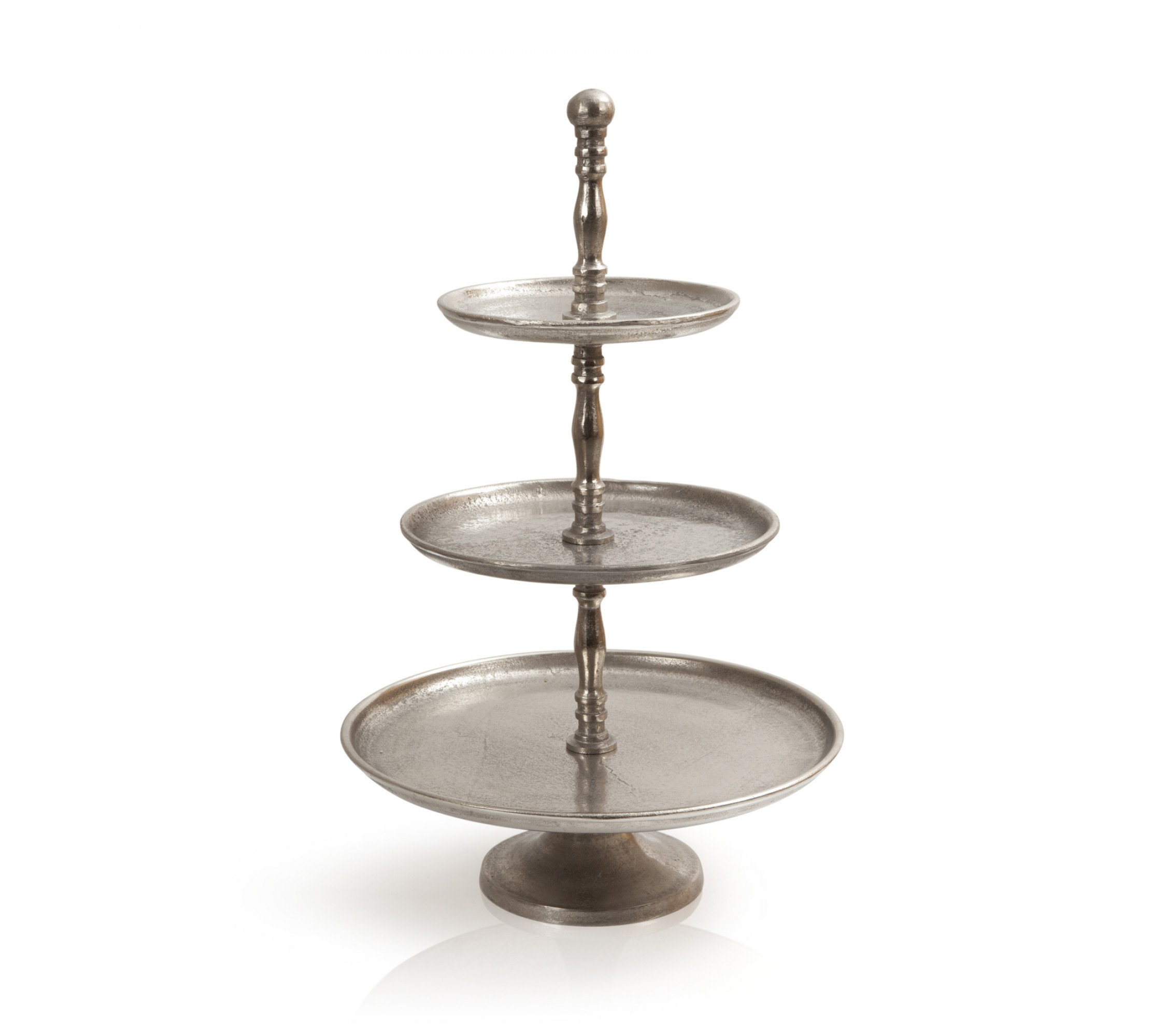 Etagère Three Silver