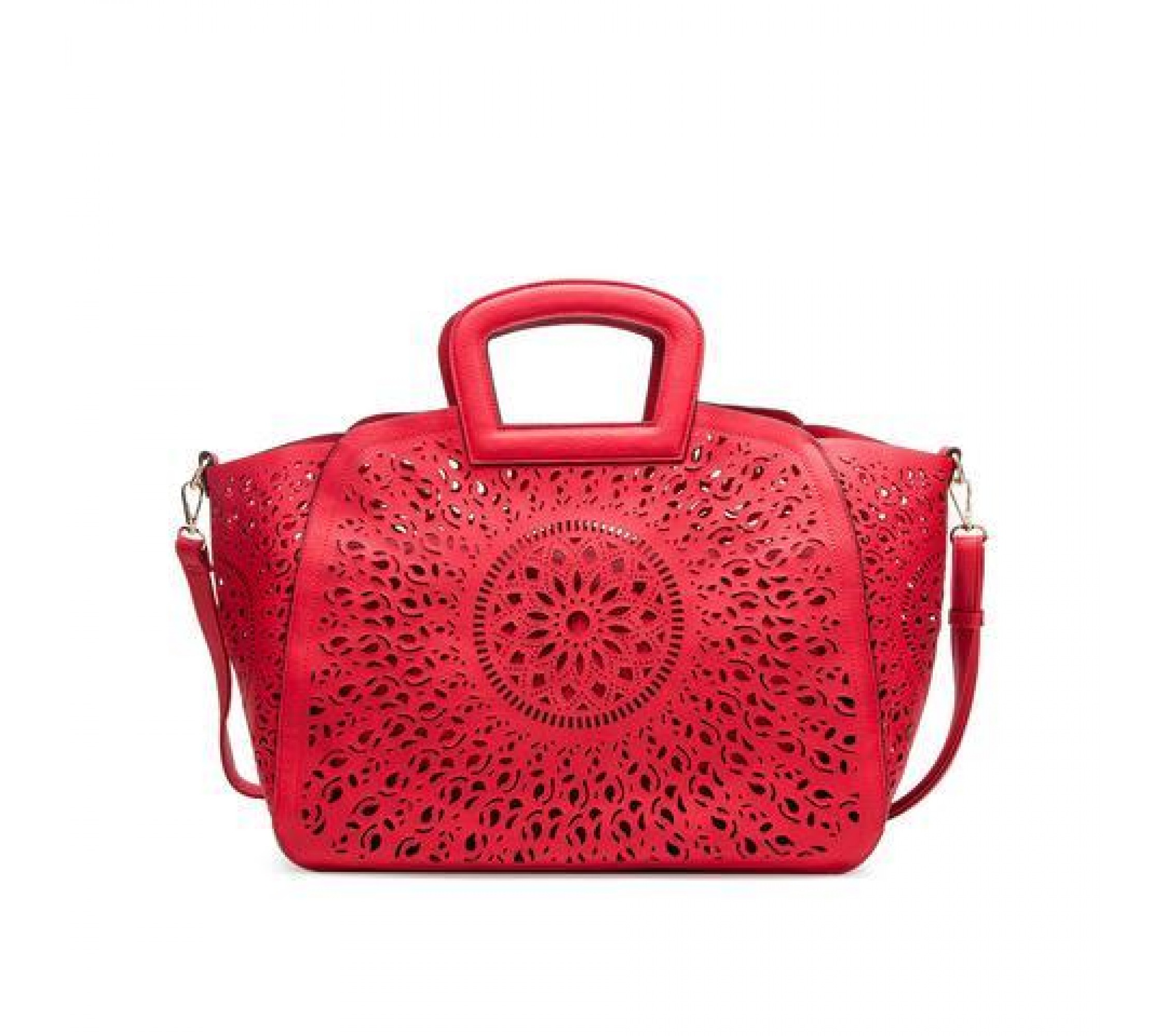 Vegane Henkeltasche Nancy Red