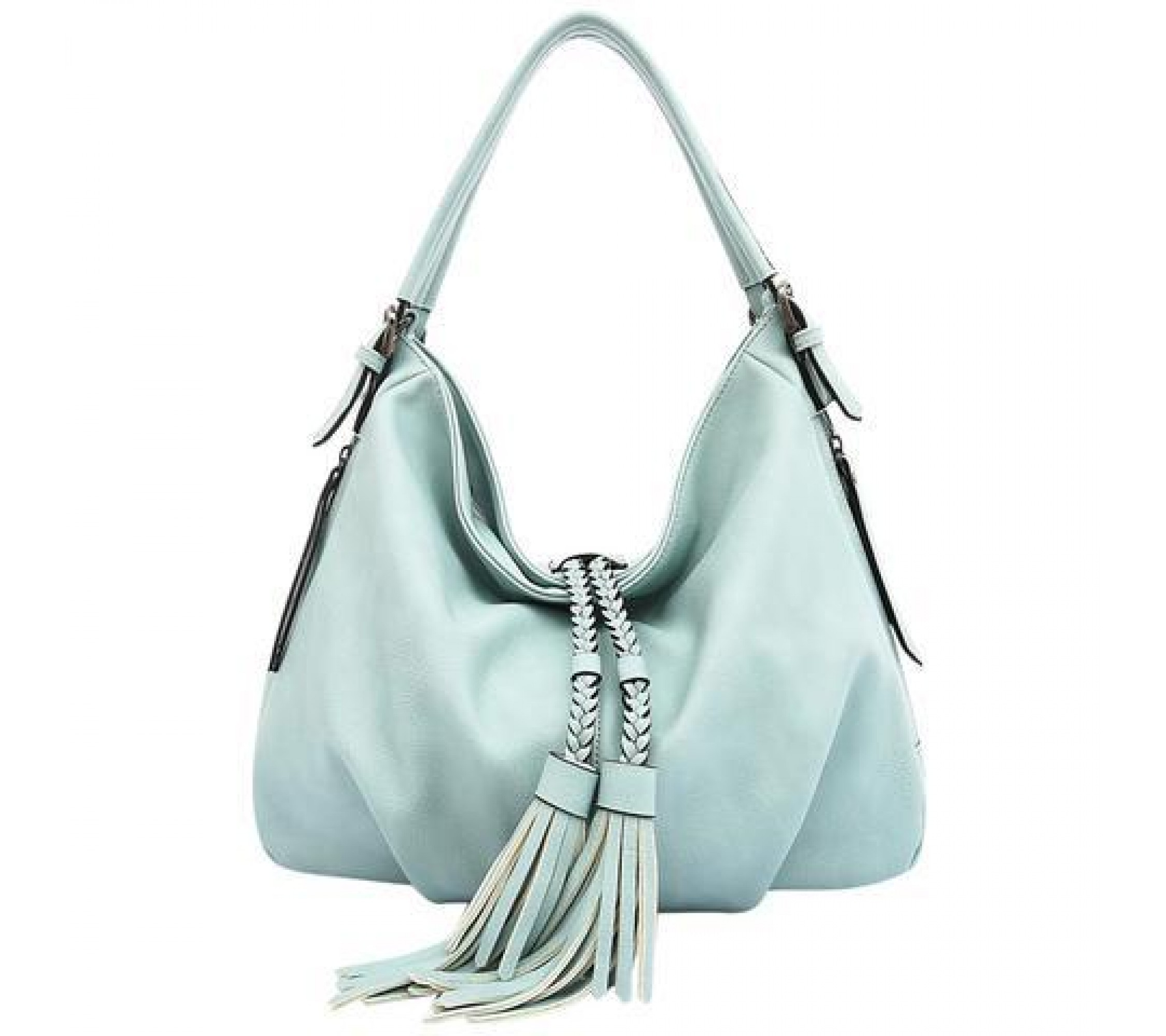 Vegane Hobo-Tasche Trudy Powder Blue