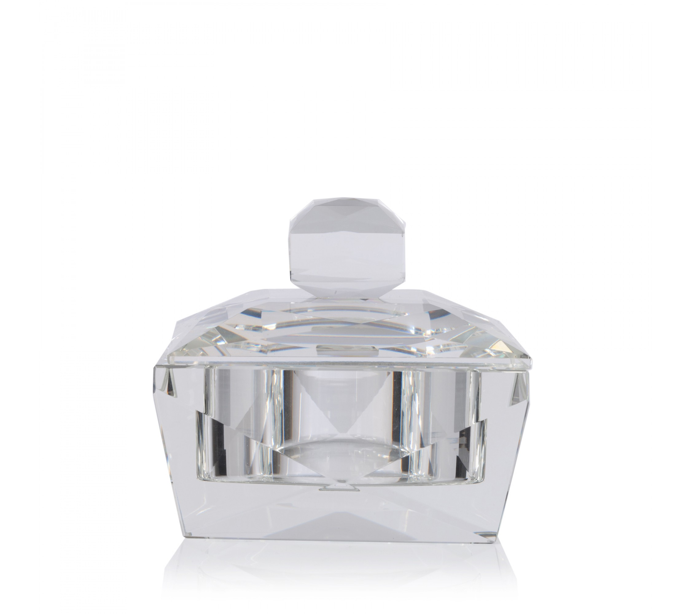 Kristalldose - Ring Box Crystal