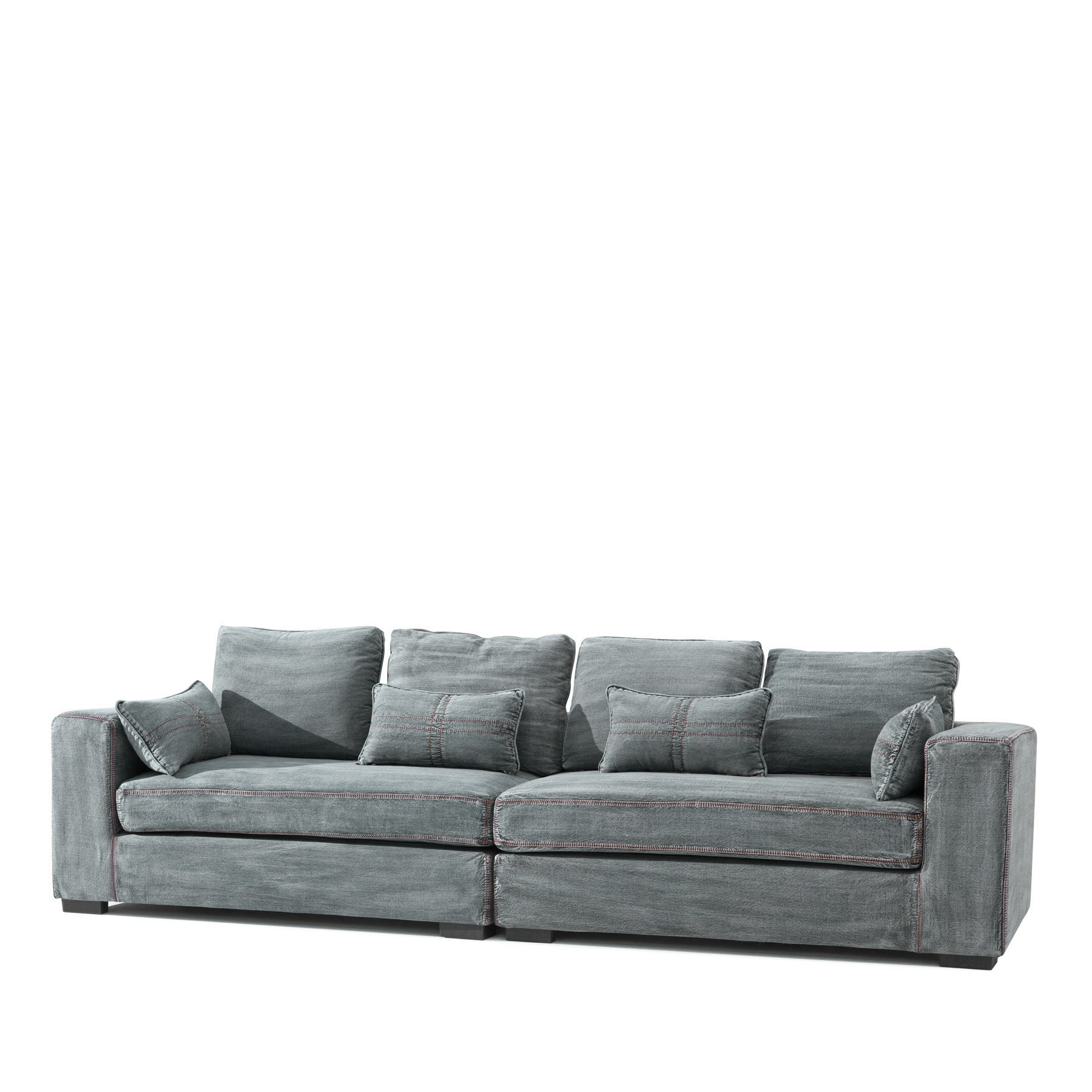 jeans sofa im online shop von trend4rooms. Black Bedroom Furniture Sets. Home Design Ideas