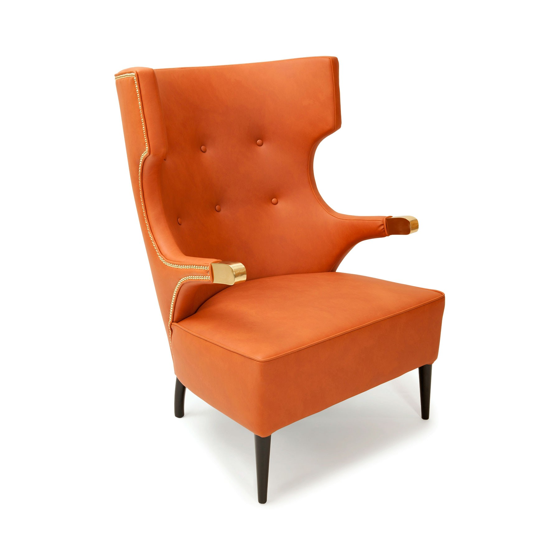 Sessel orange aus kunstleder online bei trend4rooms for Sessel orange