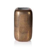 Vase Shagreen gold